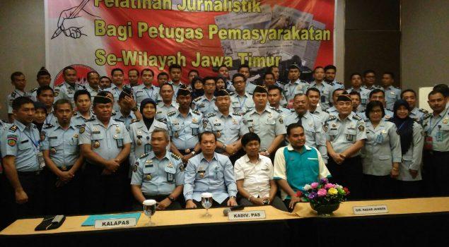 Petugas PAS Jatim Berguru Ilmu Jurnalistik dari Radar Jember