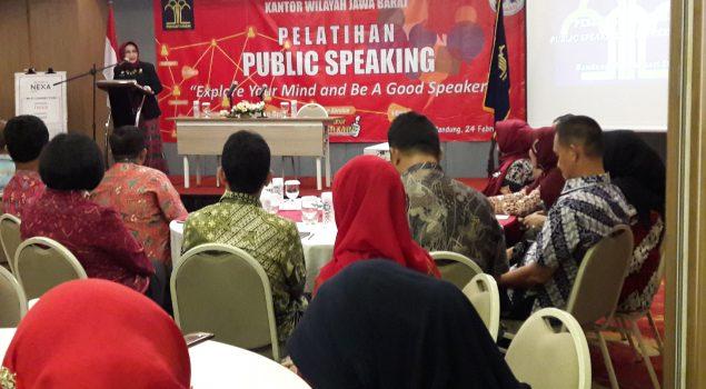 Petugas Rupbasan Bandung Ikuti Pelatihan Penulisan Berita