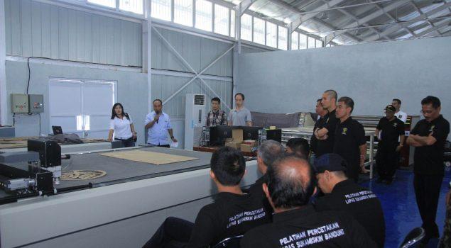 20 Petugas Lapas Sukamiskin Dilatih Jadi Instruktur Digital Printing