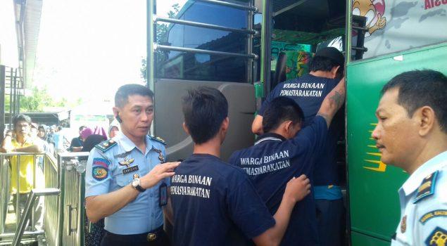 Rutan Samarinda Pindahkan 50 Napi ke Lapas Narkotika Bayur