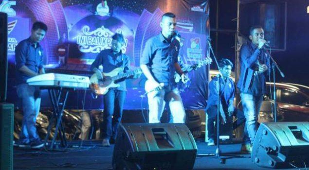 Correction Band Meriahkan HUT Kota Balikpapan ke-120