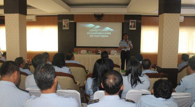 Direktur Kamtib Instruksikan Peningkatan Keamanan & Ketertiban Lapas