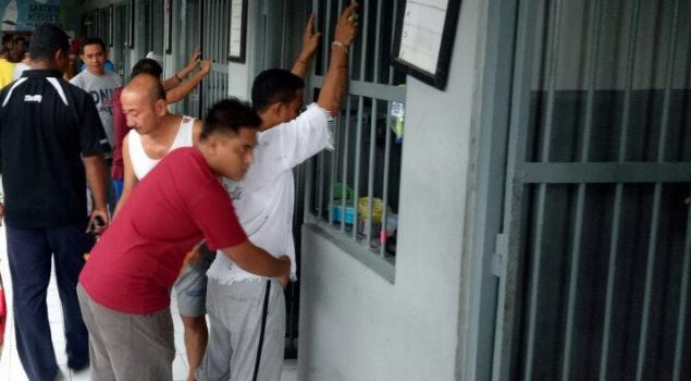 Serius Berantas Narkoba, Lapas Kupang Geledah Blok Narkotika