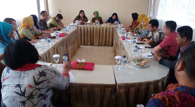 Bersama Tim Setjen, Lapas Perempuan Malang Susun Standar Kompetensi Teknis