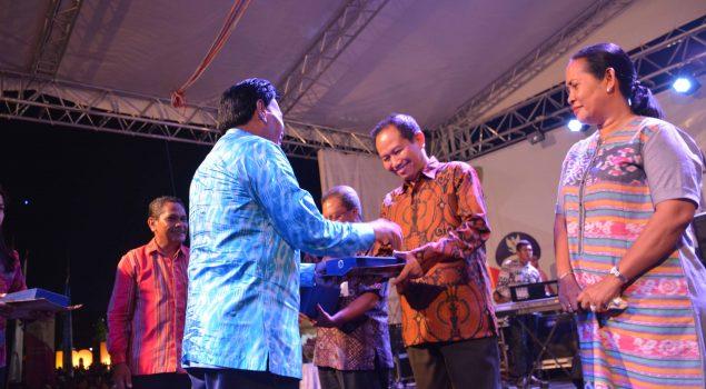 Kanwil Kemenkumham Maluku Juara II Pameran Maluku Expo 2017