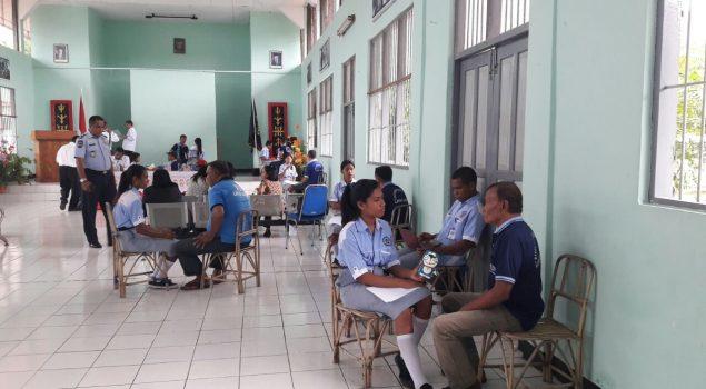 Lapas Ambon Dipercaya Gelar Ujian Kompetensi SMK