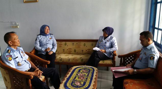Kadiv PAS Maluku Utara Sambangi Bapas & Rupbasan Ternate