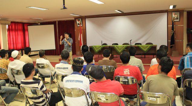 Pelatihan Public Speaking WBP Lapas Kelas I Cipinang