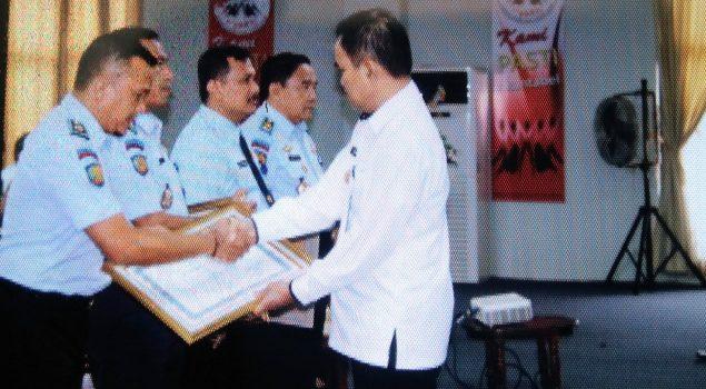 Rutan Rangkasbitung Terbaik III Penyerapan Anggaran Se-Kanwil Banten