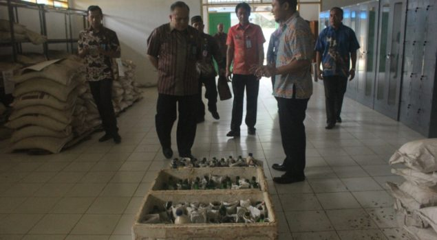 Staf Ahli Menteri Kunjungi Rupbasan Kendari