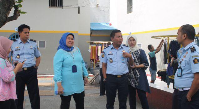 Kedatangan Tim Ditjen PAS Bantu Rutan Serang Susun Standar Registrasi Tahanan
