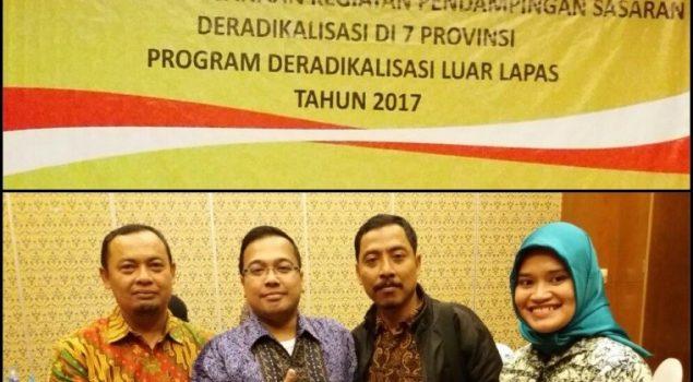 Workshop Pendampingan Sasaran Deradikalisasi pada Program Deradikalisasi Luar Lapas Tahun 2017