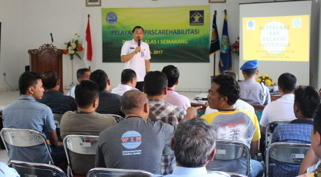 Bapas Semarang Targetkan 90 Klien Narkoba Ikuti Pascarehab Tahun 2017