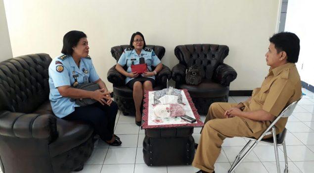 Kalapas Perempuan Ambon Bangun Sinergi dengan Dinas PPPA