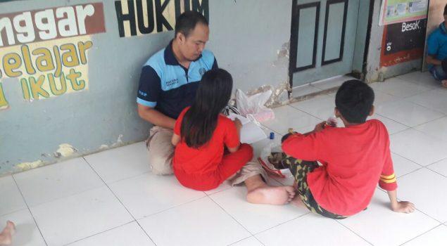 Rutan Mamuju Berikan Kunjungan Khusus Anak di Hari Minggu
