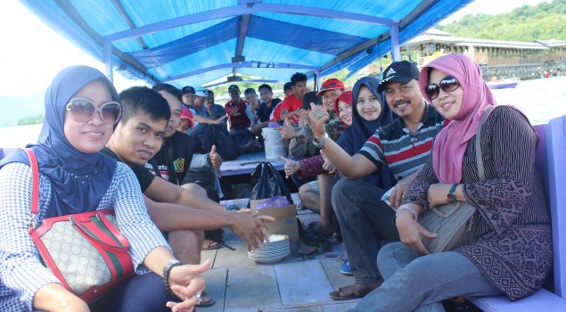 Outbound Divisi PAS Sulbar Bangun Teamwork Antar Pegawai