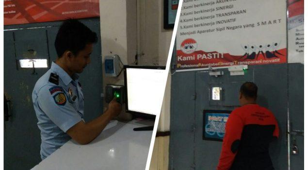 Pengamanan di Rutan Rangkasbitung Dilengkapi Fingerprint yang Terotorisasi