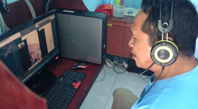 """Fasilitas Video Call Mungkinkan WBP Rutan Ambon """"Jumpa"""" Keluarga"""