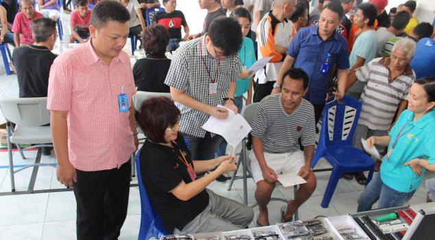 Pengobatan Gratis Bantu Pelayanan Kesehatan WBP Rutan Manado