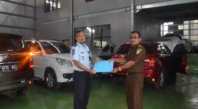 Rupbasan Bandung Simpan 10 Unit KR4 Titipan Kejari Garut