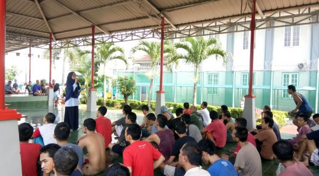 Lapas Narkotika Jakarta Peringati TB Day dengan TOSS TB