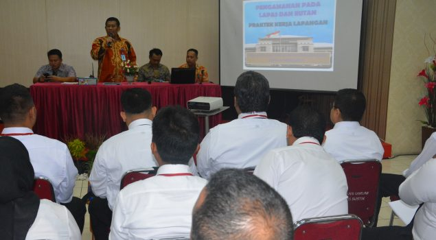 Peserta Diklat Penjagaan Wilayah DKI Jakarta Praktik di Lapas Narkotika Jakarta