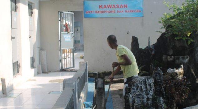 Program Sanitasi Wujudkan Zero Halinar di Lapas Pamekasan
