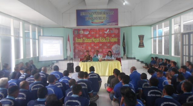 Sosialisasi Aturan Perlancar Pembinaan Napi & Pelayanan Tahanan