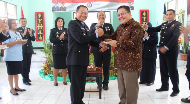 Adrianus Meliala Hadiri Syukuran #HUTPAS53 di Kanwil Maluku