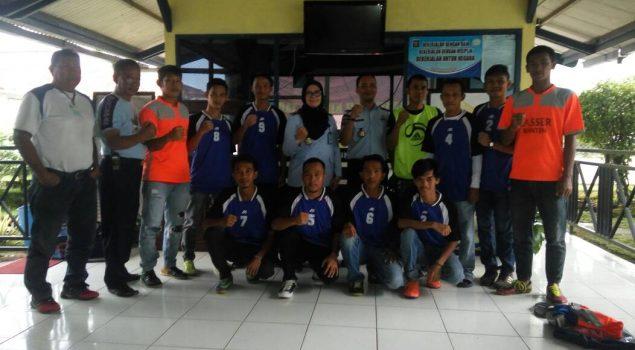 WBP Lapas Serang Sabet Juara IV Lomba Futsal