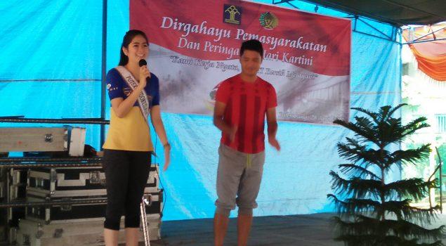 WBP Lapas Perempuan Palembang Senam Bersama Putri Indonesia Intelegensia
