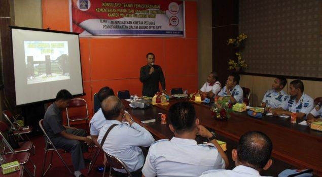 Petugas Pemasyarakatan Sulawesi Barat Diajari Ilmu Intelijen
