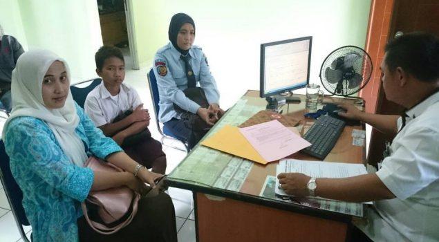 PK Bapas Serang Aktif Dampingi ABH Hingga Post Adjudikasi