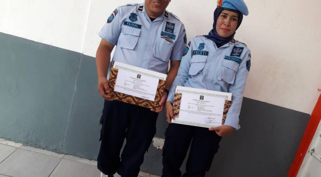 Tiga Petugas Lapas Perempuan Palembang Terima Penghargaan