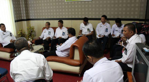 Divisi PAS Sulbar Evaluasi Capaian Kinerja Triwulan 2017