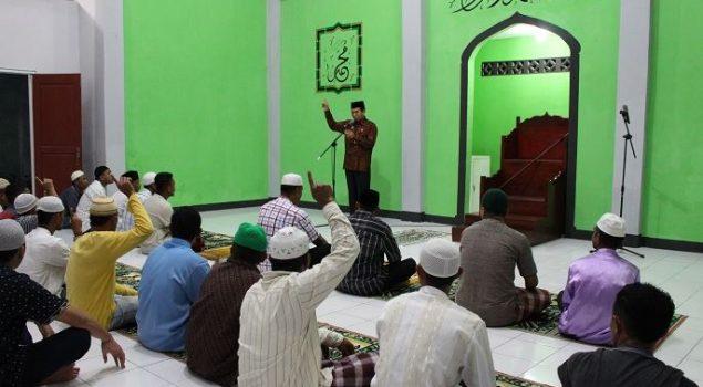 Kakanwil Maluku Safari Ramadhan di Lapas Piru