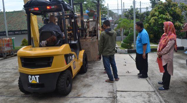 Rupbasan Bandung Terima Barang Bukti 3 Perkara Pelanggaran Pangan
