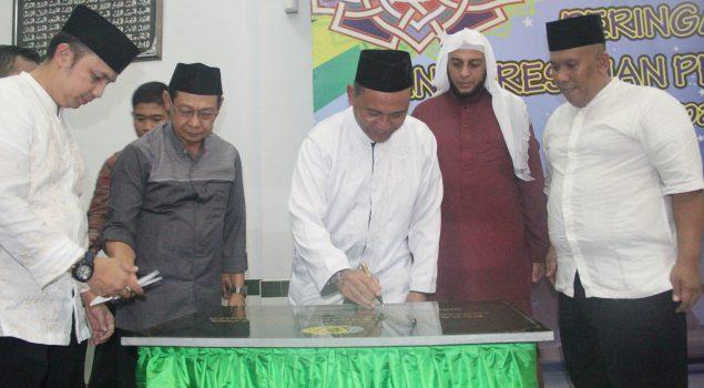 Bismillah, Lapas Narkotika Jakarta Punya Pesantren Da'arus Syifa