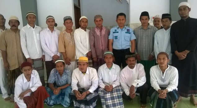 WBP Lapas Purwokerto Dapat Sertifikat Khatam Al Quran