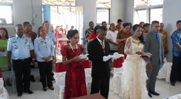 Pernikahan WBP Wujud Pemenuhan HAM di Cabrutan Dobo