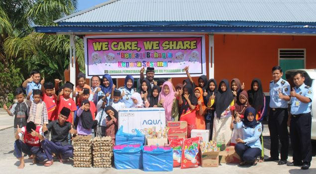 Lapas Pekanbaru Sumbang Bantuan Untuk Panti Asuhan Nur Hidayah