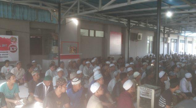 Santri LPKA Martapura Isi Keseharian dengan Mengaji