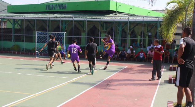 Pertandingan Olahraga Meriahkan Peringatan HUT RI di Lapas Pekanbaru