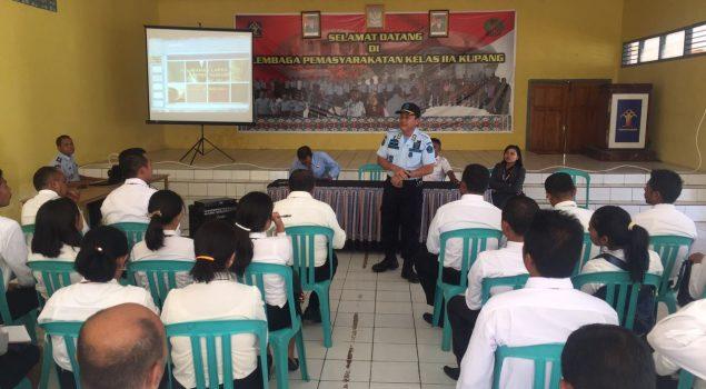 Peserta Diklat PIM IV Propinsi NTT Belajar Aspek Hukum di Lapas Kupang