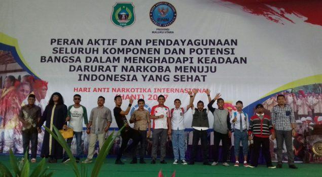 Parodi WBP Meriahkan Peringatan HANI di Kota Ternate