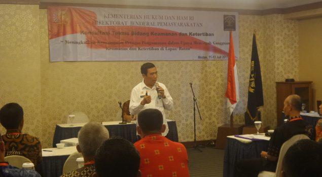 Direktorat Kamtib Gelar Koordinasi Teknis di Wilayah Sumatera Utara