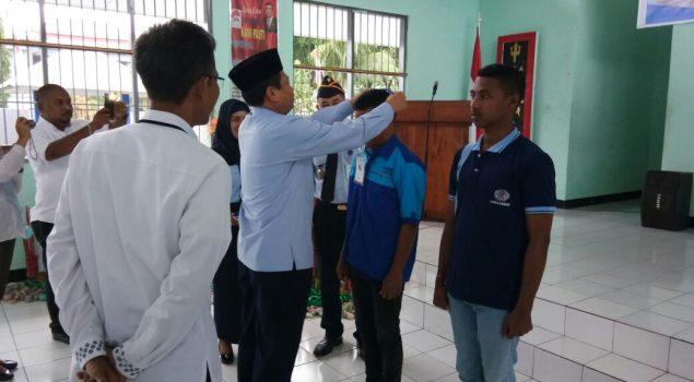 16 Anak LPKA Ambon Ikuti Pelatihan Berbasis Kompetensi