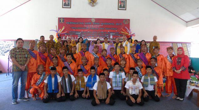Pemberian Remisi Anak di LPKA Tangerang Dihibur Musik Tradisional