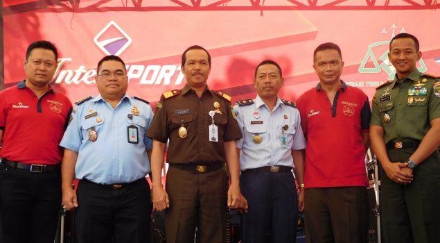 Perwakilan Rupbasan Jakbar & Tangerang Hadiri Peringatan Hari Bhakti Adhyaksa ke-57