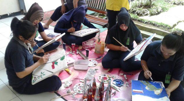 Lomba Lukis Salurkan Kreativitas WBP Lapas Perempuan Malang